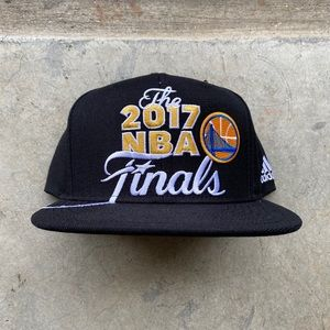 2017 Adidas GSW Western Conference Champions Hat